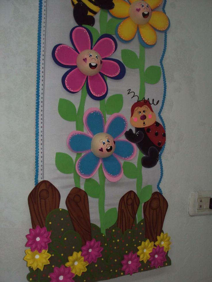 Detalles de tallimetro carteles de ambientaci n de aulas pinterest - Figuras para decorar ...