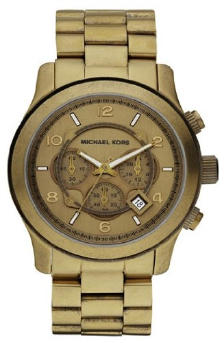 Michael Kors Men's MK8227 Runway Bronze Watch $207.49