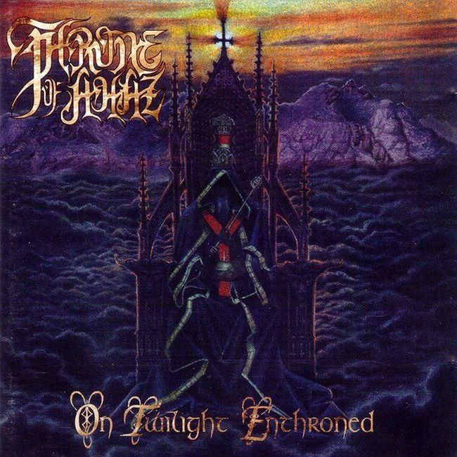 On Twilight Enthroned. Throne of Ahaz. No Fashion Records, 1996, CD.