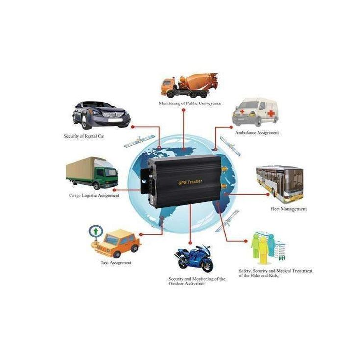 GPS Tracker Data Logger for Fleet Management Vehicle Protection GSM Quad band Connectivity