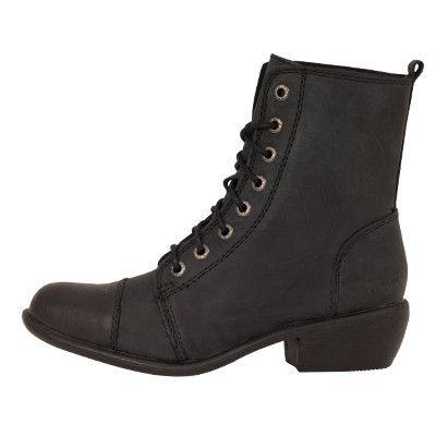Roc Boots Territory Black Leather Boots – Famous Rock Shop
