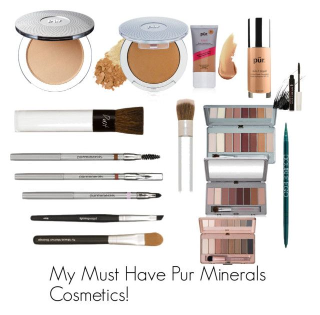 """""""My Must Have Pur Minerals  Cosmetics!"""" by minadinamike on Polyvore featuring beauty, PUR and PurMinerals"""