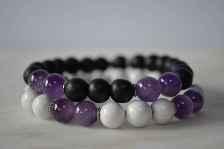 Excited to share the latest addition to my #etsy shop: Crown Chakra Amethyst Bracelet. Meditation Bracelet. Calming Bracelet. Amethyst Bracelet. Reiki Bracelet.