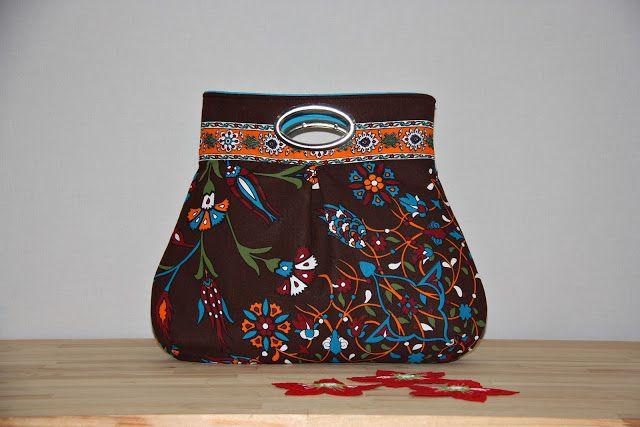 leyya craftmania: Metal Saplı El Çantaları (otantik ve fantastik çantalar)