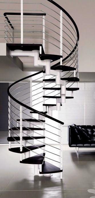 Progettazione e realizzazione di scale a chiocciola. Giemmescale Bologna.