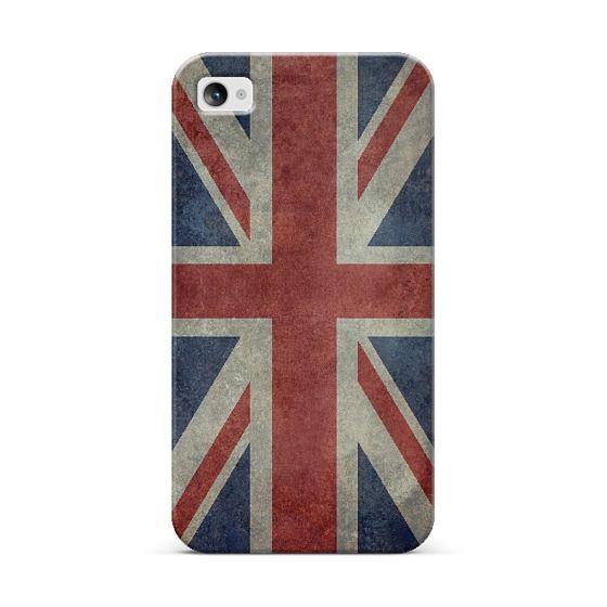 Vintage Union Jack flag of the UK iPhone & iPod case by Bruce Stanfield | Casetagram
