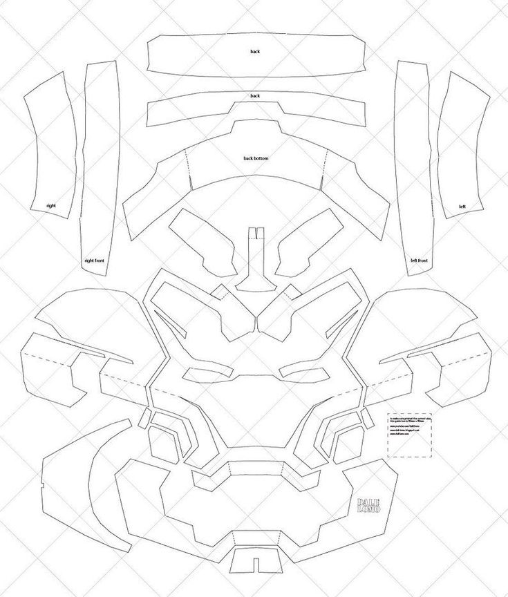 Iron Man Mark 42 - A4 & Letter Size PDF Template (Ready to ...
