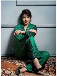 Anushka Sharma #photoshoot for Harper Bazaar December 2015.