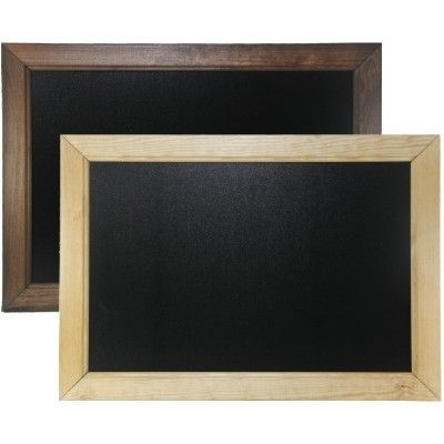 Dark Oak & Light Oak Wooden Framed Chalkboards