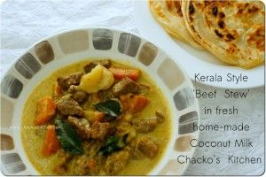 Kerala Style Beef Stew submitted by Chacko's Kitchen