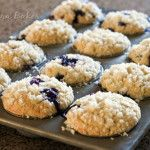 Streusel-Blueberry-Muffins