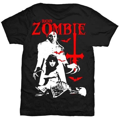 Rob Zombie Men's Tee: Teenage Nosferatu Pussy Wholesale Ref:RZTEE01MB