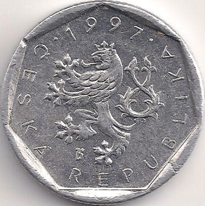 Motivseite: Münze-Europa-Mitteleuropa-Tschechien-Koruna-0.20-1993-2003