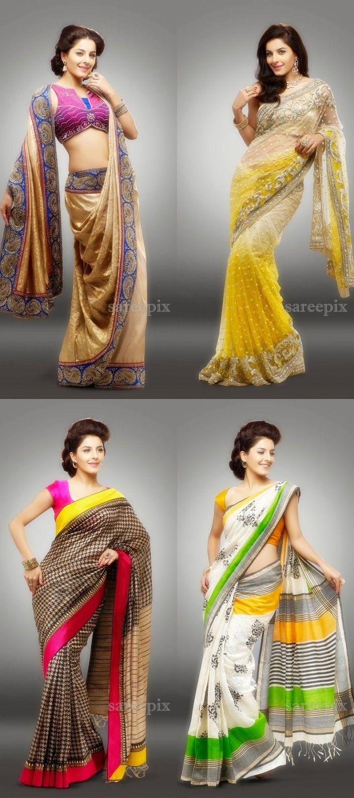 Telugu actress Isha talwar in sarees and lehengas