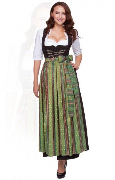 Oktoberfest dirndl apron SC200 – forest