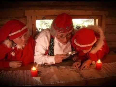 Joulumuori - Joulupukin muori - Korvatunturi, Lappi, Suomi - salaisuus - Joulupukki - YouTube