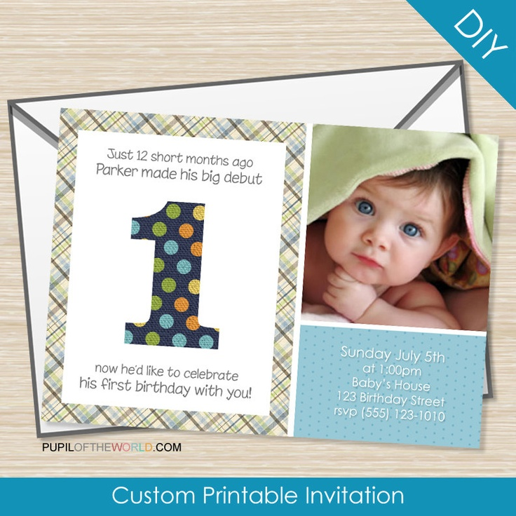 25 best Birthday: Baby\'s First images on Pinterest   Birthday ...