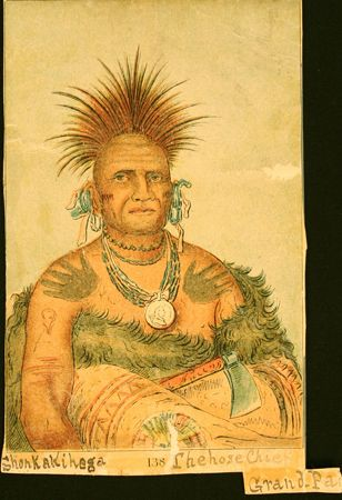 Pawnee Native American Indian Tattoos face and body paint possibly tribal tattoos
