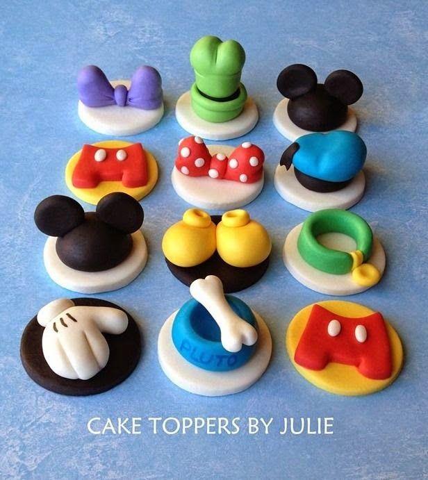 Cake toppers de Disney!