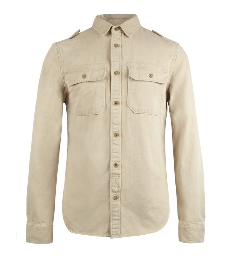 Convoy Shirt, Men, Shirts, AllSaints Spitalfields