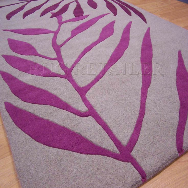 MATRIX RUGS MA09 918 KEW PLUM PINK - shown as square but available as 170cm circle