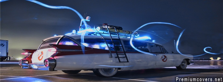 Ghost Busters Car Facebook Cover    http://www.premiumcovers.net/fansyfantasy-and-nature-facebook-cover/ghost-busters-car-facebook-cover/