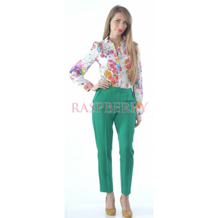 Green Trousers - Just Arrived - Imbracaminte
