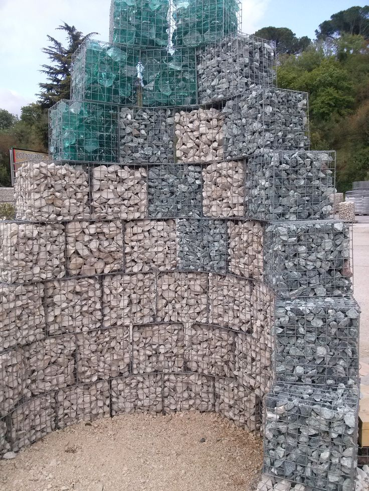 478 best gabions images on pinterest gabion wall backyard ideas and decks. Black Bedroom Furniture Sets. Home Design Ideas
