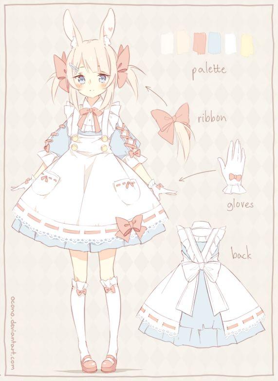 [CLOSED] ADOPTABLE | Pastel Bunny by ocono on DeviantArt