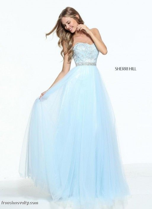1000  ideas about Strapless Prom Dresses on Pinterest - A line ...
