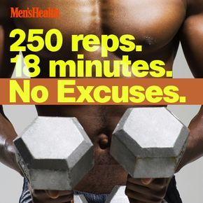 Pressed for time? Do this quick, total-body blast on days you'd otherwise have to skip the gym. http://www.menshealth.com/fitness/muscle-multiplier?cid=soc_pinterest_content-fitness_aug14_18minuteworkout