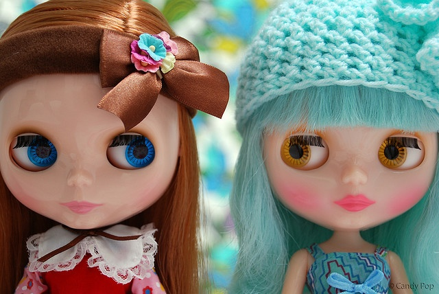 Oh Behave Girls!  by Candy Pop #blytheGirls Generation, Lauren Stuff, Blythe Dolls, Heart Blythe, Candies Pop, Behaved Girls, Pop Blythe