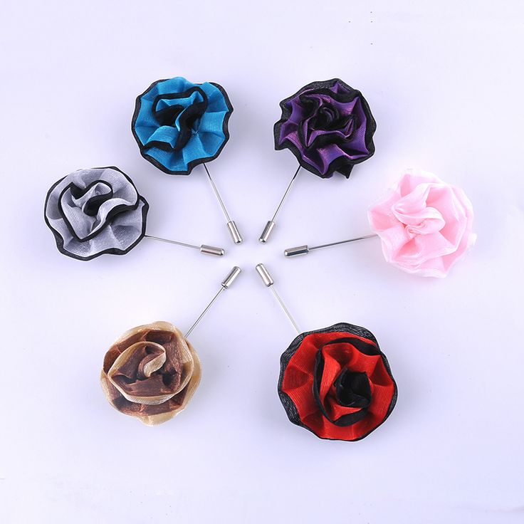Cheap mens suit accessories, Buy Quality suit accessories directly from China lapel flower Suppliers: OMENG  New Arrival Suit Pin Men Lapel Flower Rose Mixed Color Handmade Boutonniere Stick Brooch Pin Men Suit Accessories XZ055