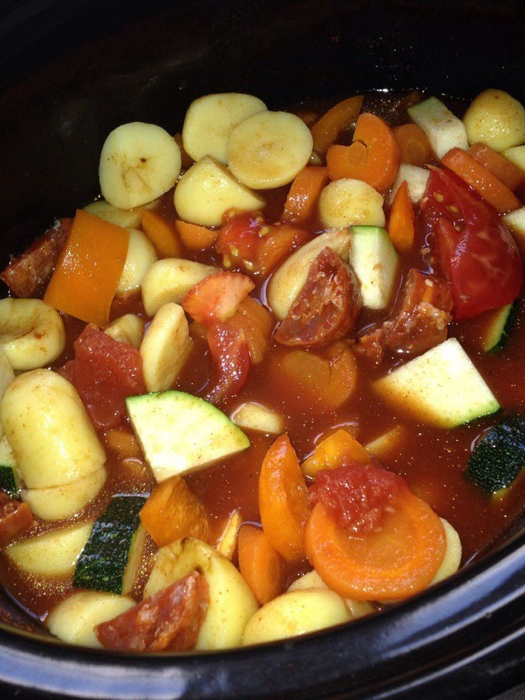 A Sort of Spanish Stew - Slow Cooker Style