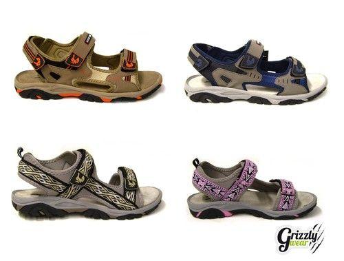 Novità in saldo: Sandali sportivi Grouse Creek uomo/donna  con chiusura in velcro regolabili! Risparmio: EUR 29,95 (50%)