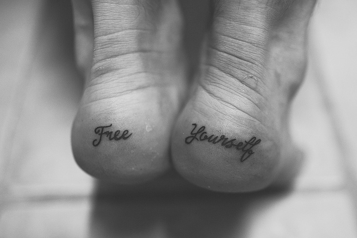 heel tattoo :) I am really gonna get this! With different words