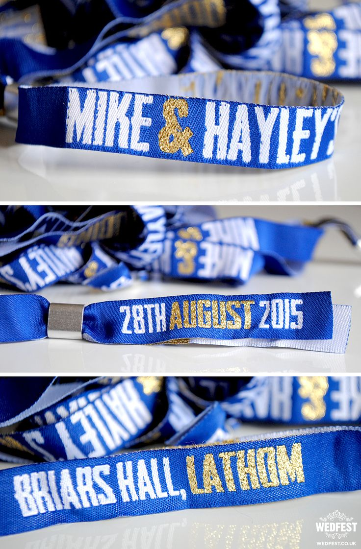 personalised concert wristband wedding favours http://www.wedfest.co/concert-gig-ticket-wedding-invites/