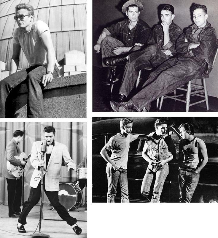 jaren 50 mode jongeren