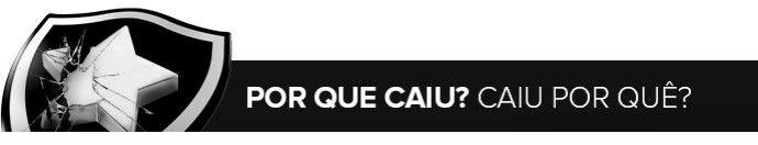 BotafogoDePrimeira: Por que caiu? Caiu por quê? Dossiê Botafogo: da Li...