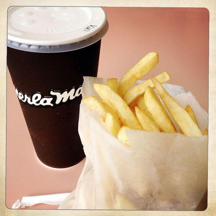 Merla Mae • Thunder Bay • Vanilla Shake and Fries