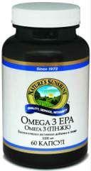 Биологически активная добавка (БАД) Omega 3 (EPA) (Омега 3 (ПНЖК - полиненасыщенные жирные кислоты)) NSP 60 капсул
