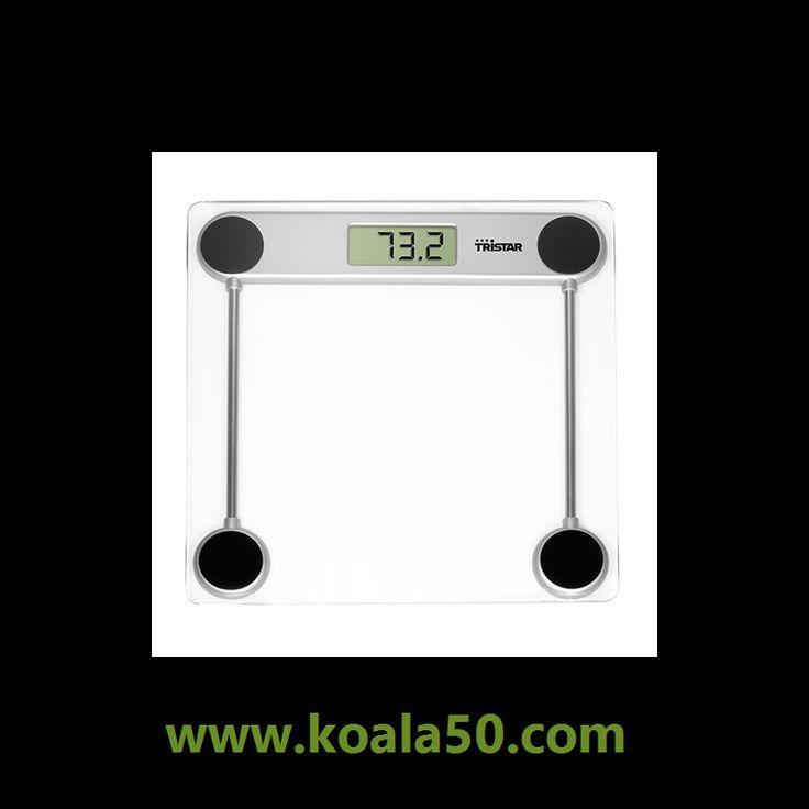 Balanza de Baño Tristar WG2421 150 kg - 9,04 €   Comprar balanza de baño Tristar WG2421150 kgal mejor precio.Balanza de bañode bonito diseño con cristal templado para su seguridad. Fácil de usar. Labásculase enciende al subirse a...  http://www.koala50.com/basculas/balanza-de-bano-tristar-wg2421-150-kg