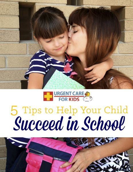 Urgent Care for Kids shares tips from a teacher's perspective on things parents can do at home to help their children achieve their highest potential at school