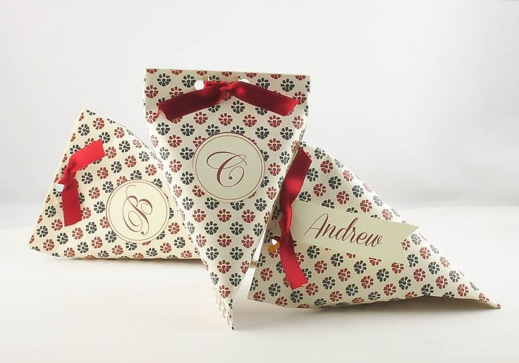Christmas Bags – Jewelry packaging small gift boxes  – a unique product by DressYourGift on DaWanda