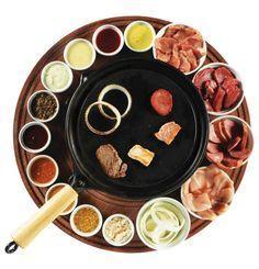 Sugestões de molhos e cortes de carne para fondue