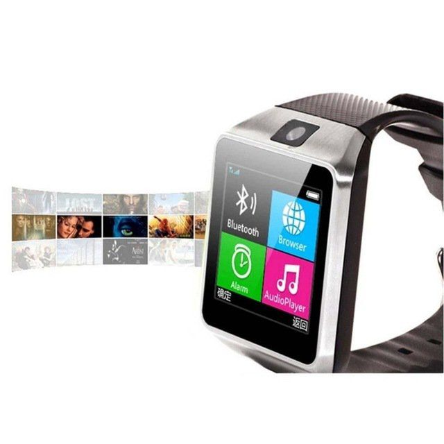 GV18+Bluetooth+Smart+Watch+Watches+GSM+NFC+Camera+SIM+Card+For+Android+Phone