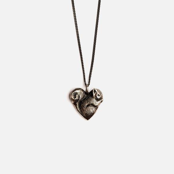 Folkloriikka - Squirrel Necklace