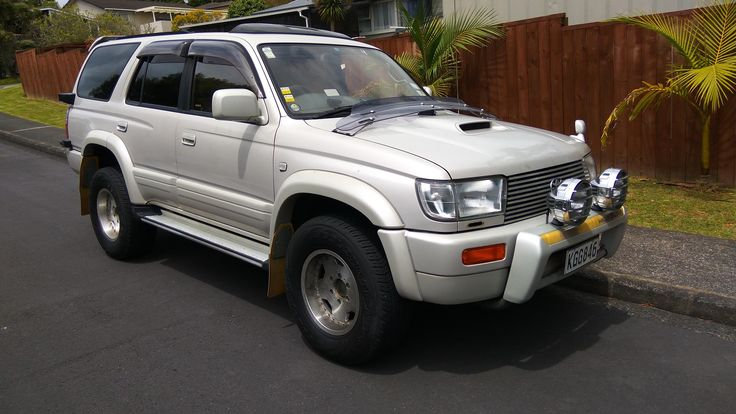 Just joined the 4x4 world and picked up my first Toyota surf! #4x4 #offroad #Grime #dubstep