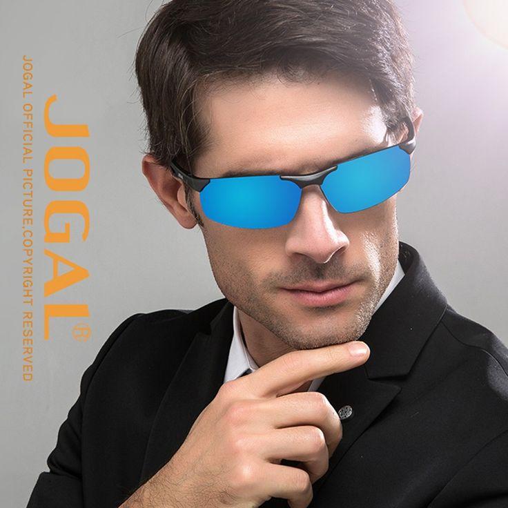 JOGAL Luxury UV400 Sun Glasses Polarized Sunglasses Driving Man #1 - Tomtop.com