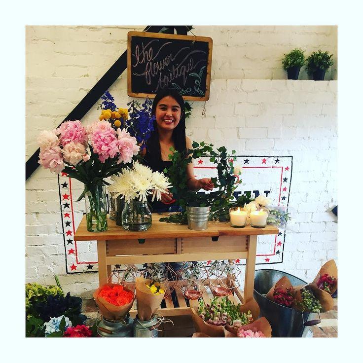 The flower boutique @precinct75 @buttercream_bakery #flowers #sydneymarkets #sydneyweekend